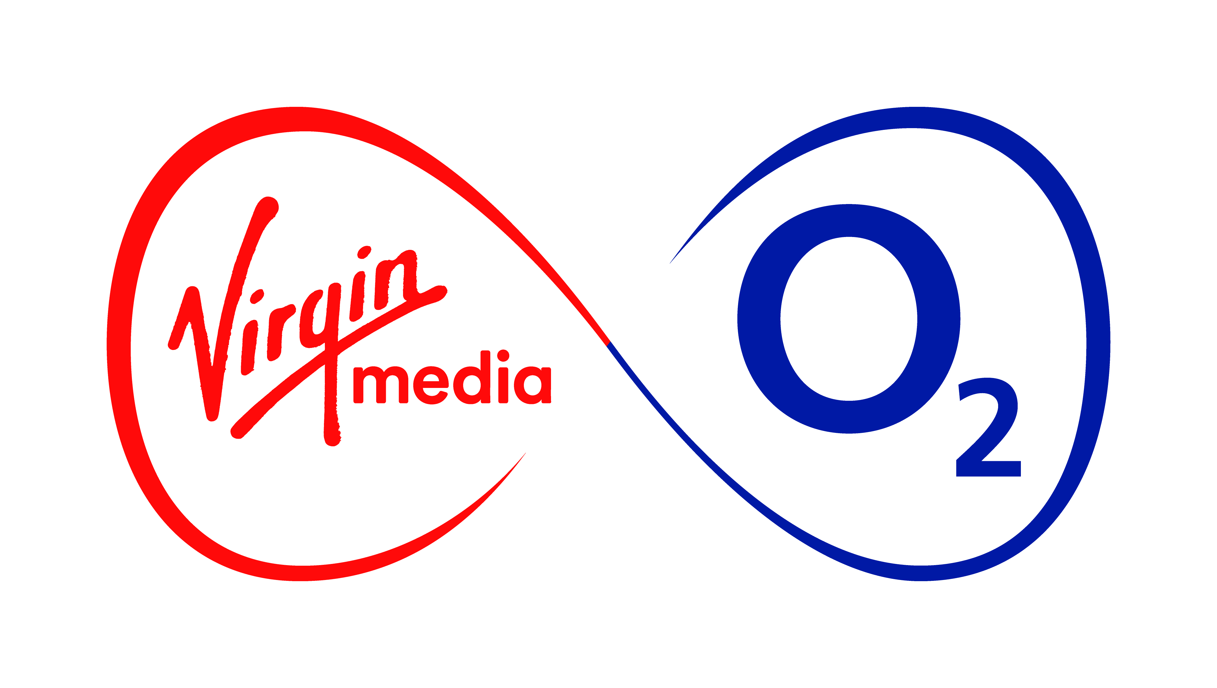 The Virgin Media O2 Logo which features both the bright red and royal blue of our iconic brands.